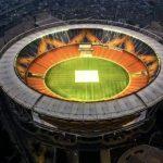 """दुनिया के सबसे बड़े खेल के मैदान """"नरेंद्र मोदी स्टेडियम"""" पर छिड़ा विवाद, भाजपा दे रही है सफाई, अमित शाह ने बताई स्टेडियम की खासियत"""