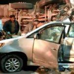 यमुना एक्सप्रेसवे पर भीषण हादसा, डीजल टैंकर ने इनोवा गाड़ी में मारी टक्कर, 7 लोगों की मौत